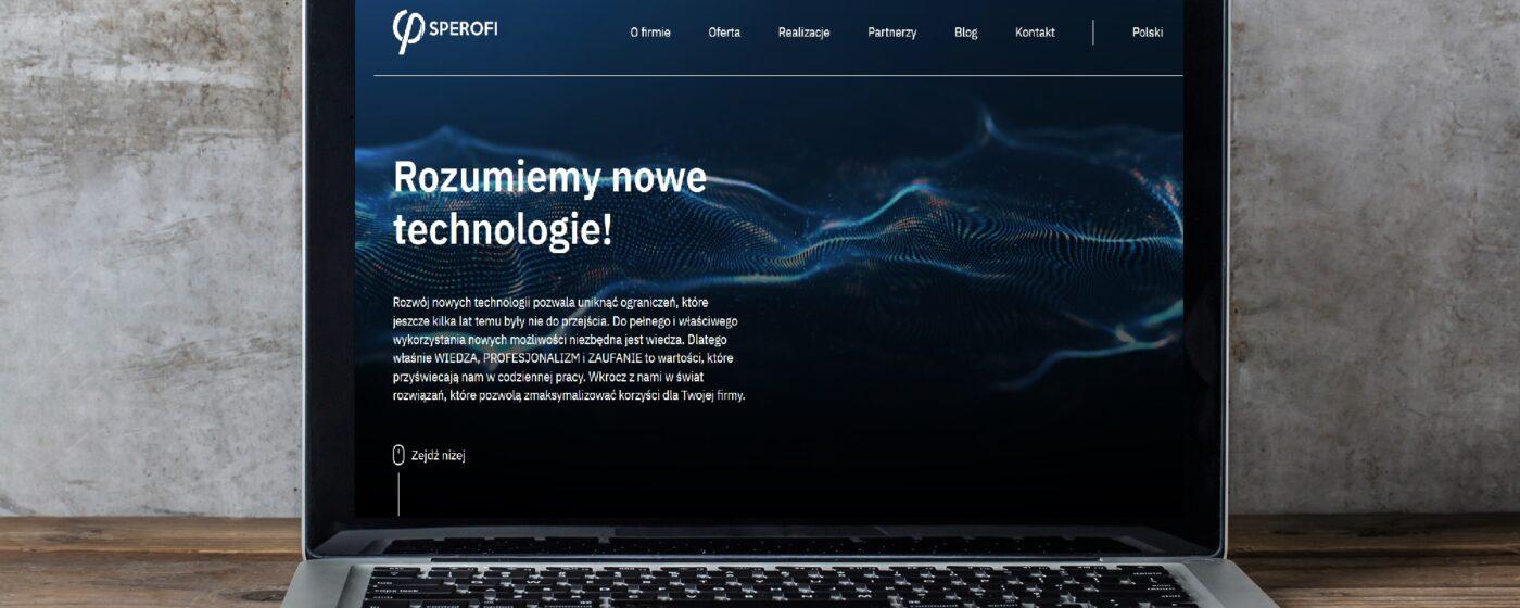SPEROFI.PL – NOWA WITRYNA INTERNETOWA
